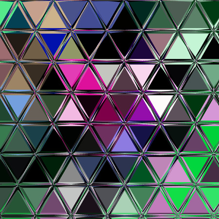 Fashion Triangle continuous Abstract Background print Stock Photo