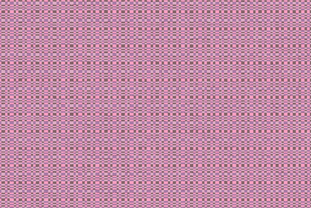 Square - geometric abstract pink pattern