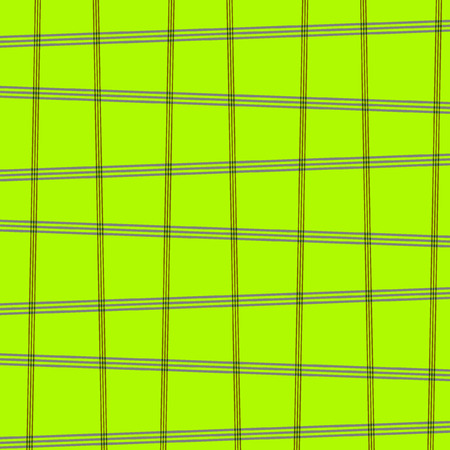 Square pattern green grass skew texture background.