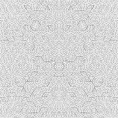 Isometric grid pattern. Triangle line background Stock Photo