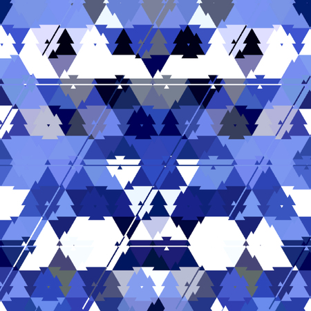 Abstract blue color Polygonal geometric background Imagens