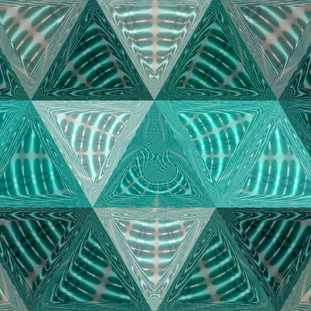 geometrical triangles pattern with circles and ripples. Cover, modern.