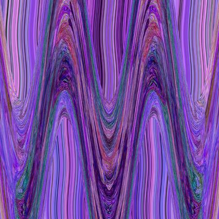 Aztec tribal violet background with liquide zigzag 版權商用圖片