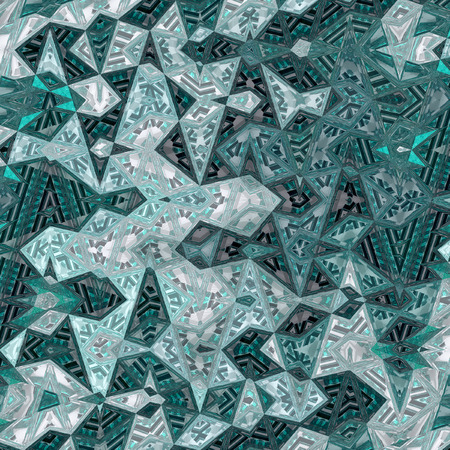 thin abstract background in teal color for card or banner background Imagens