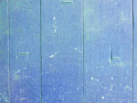 Wood plank blue texture background. Decorative wall paint. Vintage structure. Empty display. Natural wooden board texture.