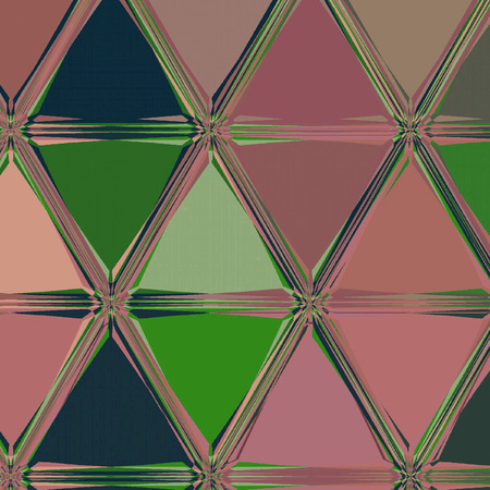 Hexagon pattern background. Triangular background in pale colors