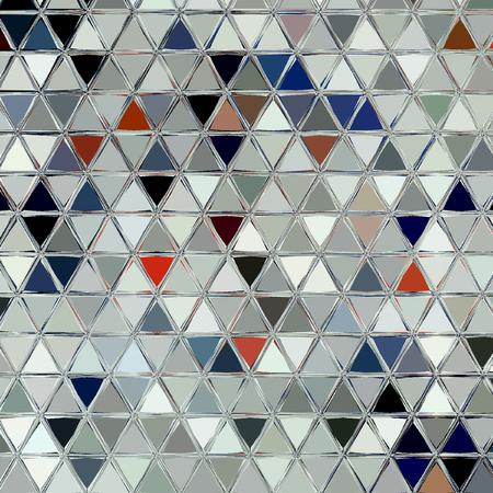 Modern traditional triangular pattern design. Bohemian set.