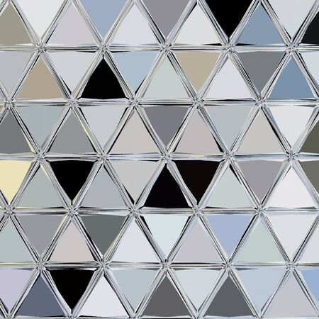 premium background with polygonal patterns and silver triangle lines Reklamní fotografie