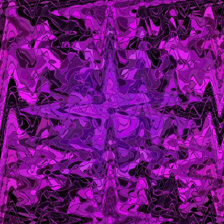 Banner background in purple zigzag on black background.