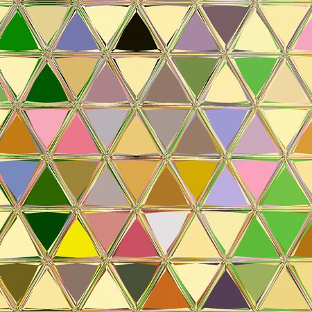 Geometric colorful style background with triangles