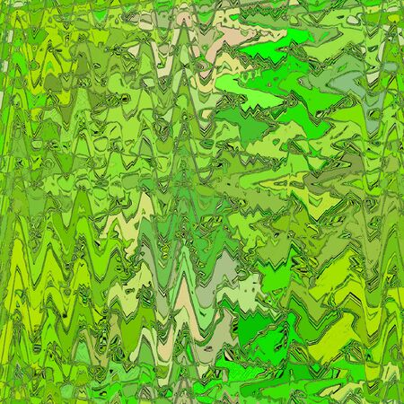 Zigzag lines in abstract style and light green color of spring. Reklamní fotografie