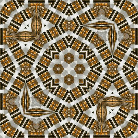 Ethnic folk ornament. Indian rug tribal ornament pattern.