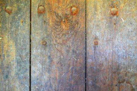 Shabby Wooden Planks rusty texture background Stockfoto - 132606066