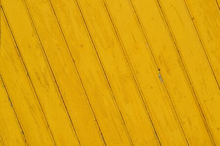 Yellow Wooden Planks with diagonal pattern background texture Stockfoto - 132605966