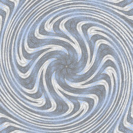 Swirling radial pattern background in pastel blue and grey for swirl design. Helix rotation rays. Converging psychadelic scalable stripes. 版權商用圖片