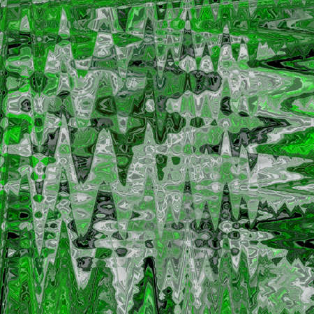 zigzag lined pattern, endless background in green and teal with transparent effect. Decorative net splicing motif texture with rhombs. Green overlay ornate covering