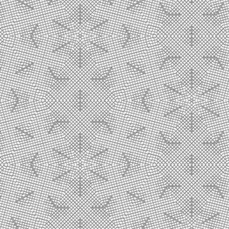 Continuous pattern with snowflakes textures. monochrome background Stockfoto