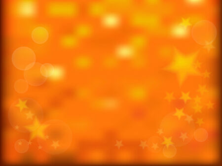 Gold sparkles and stars background  Abstract holiday background  Vector Vector