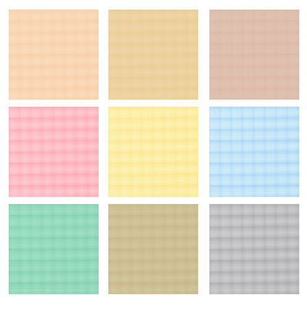 pale cream: Abstract background set. Collection of geometric textures. Vector Illustration