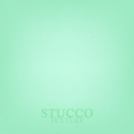 mur platre: Lumi�re texture de stuc vert. Pl�tre texture du mur. Vecteur de fond