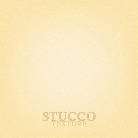Beige stucwerk textuur. Gips muur textuur. Vector achtergrond Vector Illustratie
