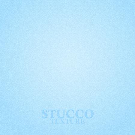 mur platre: Stuc texture l�g�re bleu. Pl�tre texture du mur. Vecteur de fond
