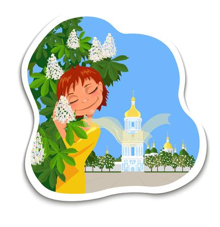 Картинка с деревом мультяшная