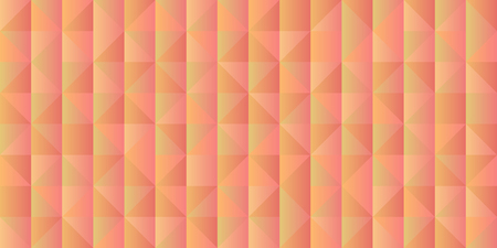 Gradient horizontal background with grid of triangles. Trendy design template. Vector illustration. 向量圖像