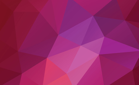 violet red: violet and red low poly background vector