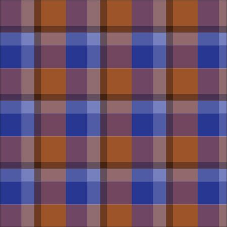 brown: blue brown plaid tartan pattern vector