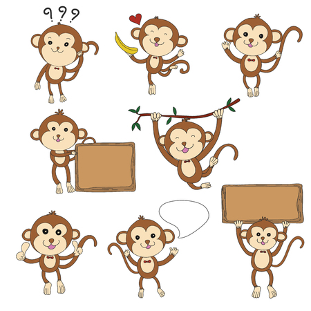 8 monkeys character