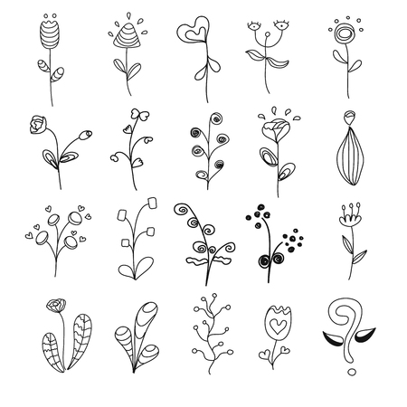 20 flowers  set