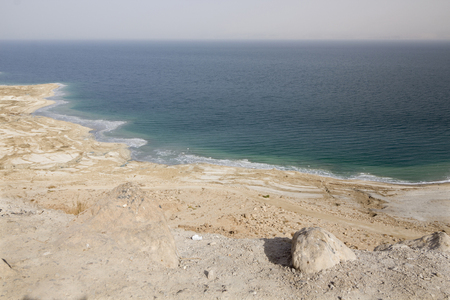 View on the Dead Sea 免版税图像