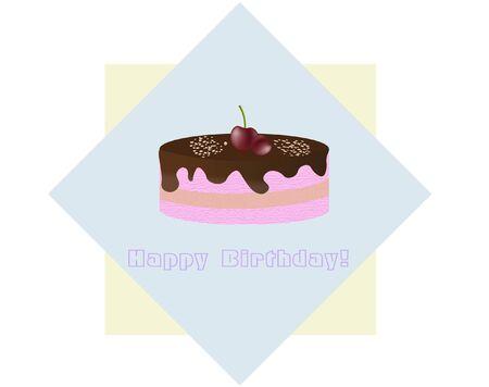 birthday card Illustration