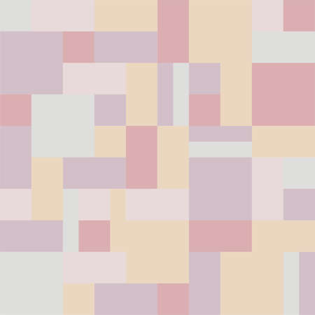 quilt: Background rectangles and squares. Style Patchwork and Quilt. Pixel art. Soft, pastel colors. Quilt pattern