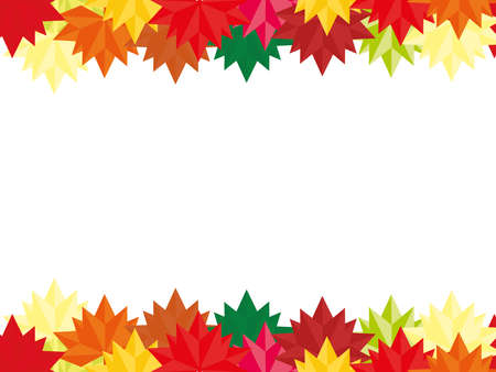 Autumn background rectangular orientation with a place for information Fall pattern for your Banners, Wallpapers, Mailing, Design, Sale, Cards copy space Colorful