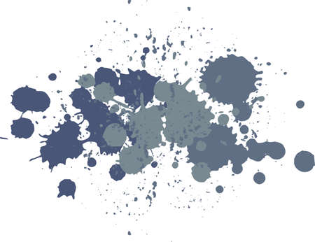 blots: Background with blots and splashes of paint