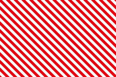 Red stripes on white background. Striped diagonal pattern Blue diagonal lines background, Winter or Christmas theme