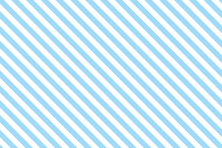 Blue stripes on white background. Striped diagonal pattern Blue diagonal lines background, Winter or Christmas theme Illustration
