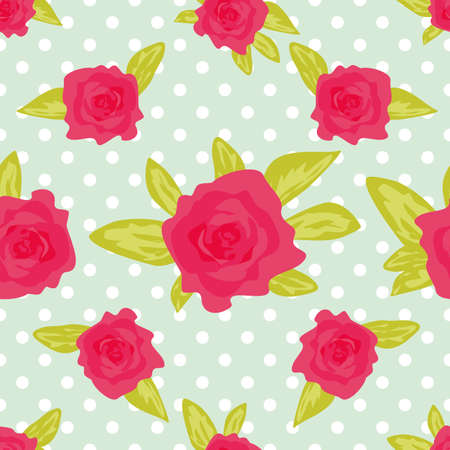 calico: Cute vintage floral pattern.