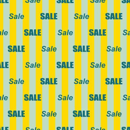 Sale simple background. Illustration