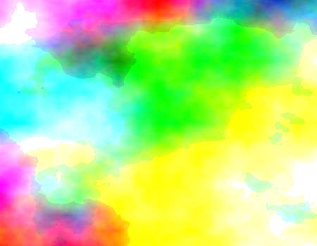 flashy: Abstract colorful background, digital watercolor or blurry mixed paint. Different shades of green, blue, yellow and pink shades