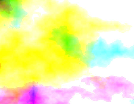 garish: Abstract colorful background, digital watercolor or blurry mixed paint. Different shades of green, blue, yellow and pink shades