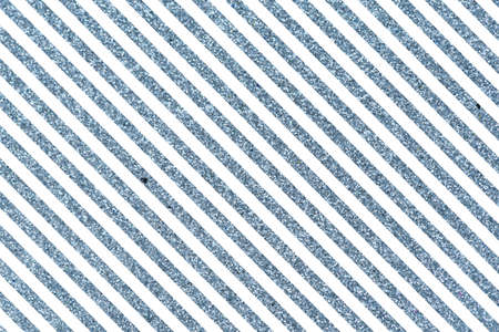 Slanted glittery lines The Theme of love and Valentines Day Idea for greeting card Rectangular orientation. Diagonal stripes of blue Stock Photo
