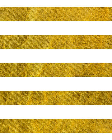 Horizontal wide gold line with the Theme of love and Valentines Day Idea for greeting card Rectangular orientation. Stripes of gold texture