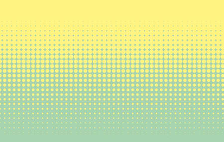 Halftone pattern. Comic background. Dotted retro backdrop with circles, dots. Design element for web banners, posters, cards, wallpapers, sites. Pop art style. Vector illustration. Colorful. Ilustrace