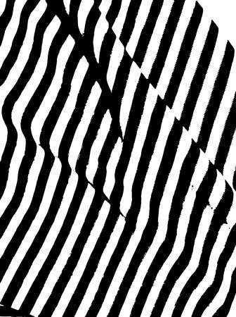 Pattern with black and white stripes. Design element for creating abstract backgrounds brushes, backdrops. Grunge, urban style. Marine sailor.
