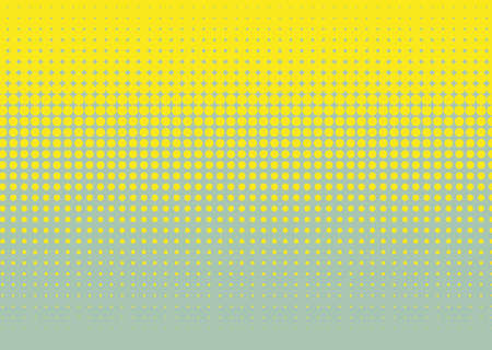 Halftone background. Comic dotted pattern. Pop art retro style. Backdrop with circles, rounds, dots, design element for web banners, posters, cards, wallpapers. Illustration