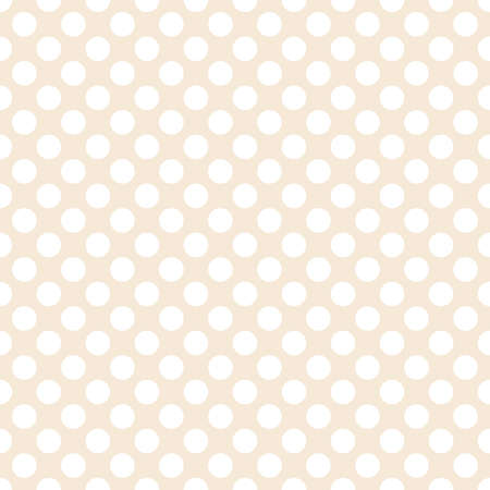Polka dot seamless pattern. Dotted background with circles for printing on fabric, Wallpaper, textile design covers. Vector illustration Иллюстрация