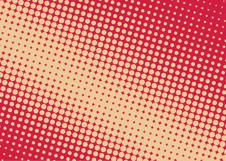 Halftone background Comic dotted pattern